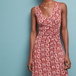 "Anthropologie Maeve ""Yvette"" Ruched Wrap Dress!"